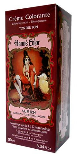 Auburn Henne Henna Liquid Hair Dye Colouring Cream | World's End Natural Products